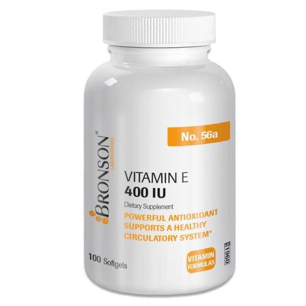 Vitamin E 400IU-100 капс I Bronson